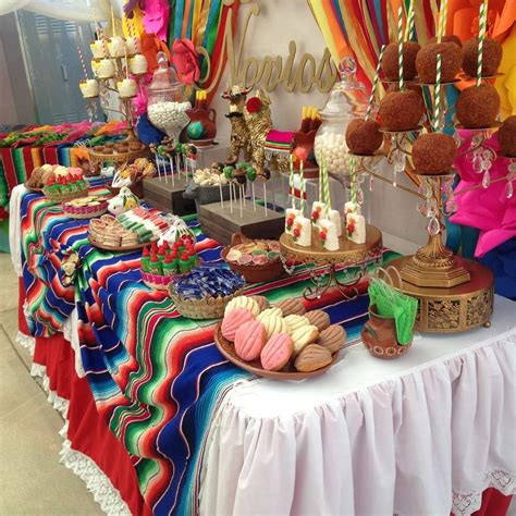 fiesta mexican bridalwedding shower party ideas