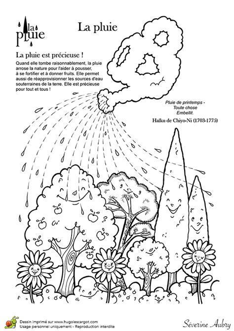 haiku sur le theme de la pluie