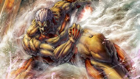 armored titan attack  titan shingeki  kyojin