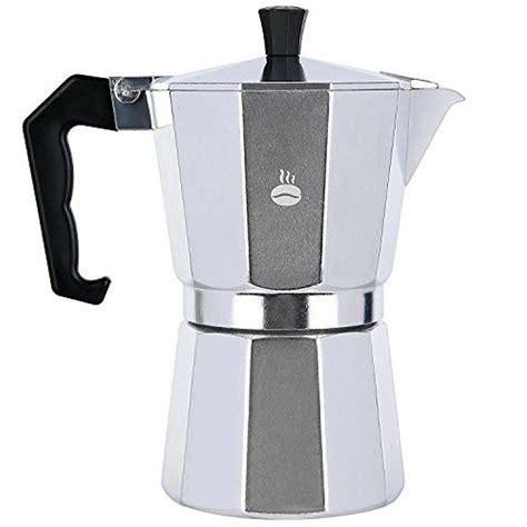 Best stovetop coffee makers for 2021. Stovetop Espresso Maker, Aluminum Italian Moka Pot Coffee