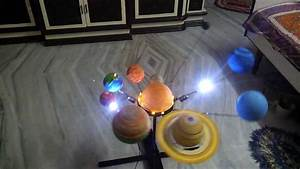 Solar system project made by Bharat Bhadani for my student ...