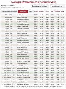 Fleur D Islam Horaire Priere : t l chargez gratuitement vos horaires de pri re pour le mois de safar 1436 d cembre 2014 ~ Medecine-chirurgie-esthetiques.com Avis de Voitures