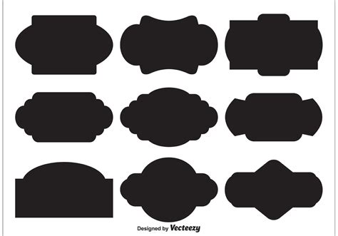 We upload amazing new content everyday! Vector Label Shapes - Download Free Vector Art, Stock ...