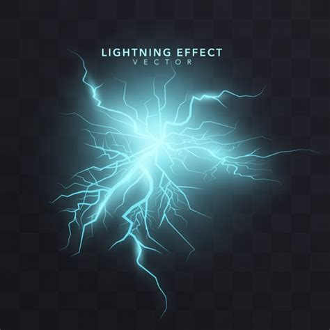After Effects Particulas Template Luces by Lightning Effect Background Vector Free Download