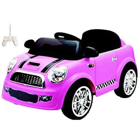 auto macchina elettrica per bambini rosa 12v mp3 mini car