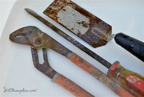 rust tools remove rusty cleaning before keep h2obungalow oiling woodworking clean removal metal cleaner hacks kitchen homemade oil visit simple