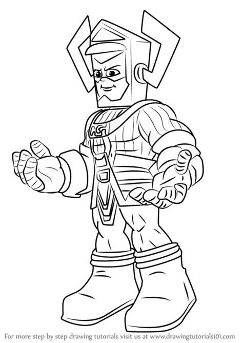 learn   draw galactus   super hero squad show