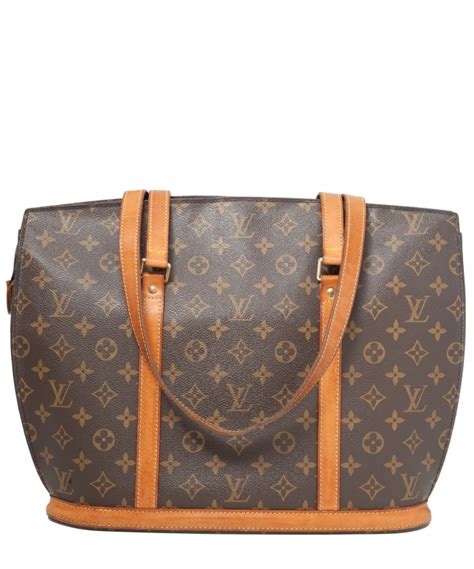 louis vuitton monogram canvas babylone tote bag la doyenne