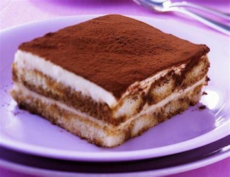 fiches cuisine tiramisu au chocolat sans café recette de dessert