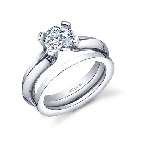 best ideas of wedding band fits inside engagement rings