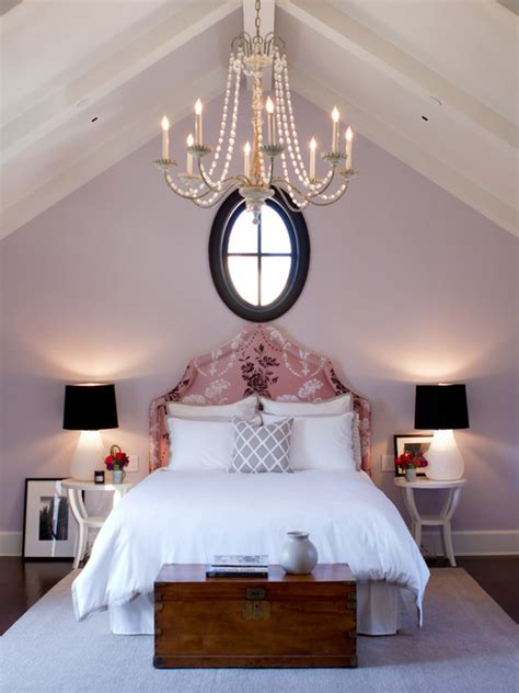 lavender painted rooms pale purple bedroom with walls painted in slip by benjamin moore via jackson paige interiors