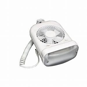12-volt Dc Fan  Light Combo In White-410fan6008rt