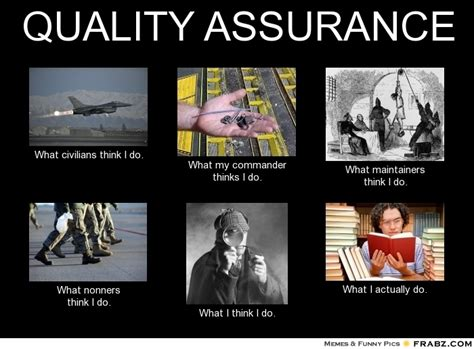 Quality Memes - quality assurance meme generator what i do