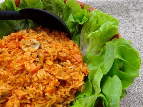 riz cuisiné riz jollof recette du cameroun la tendresse en cuisine