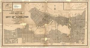 Plan Of The City Of Vancouver  British Columbia