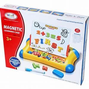 Magnettafel Für Kinder : magnettafel 2 in 1 abc kinder schreibtafel magnet zahlen ~ Frokenaadalensverden.com Haus und Dekorationen