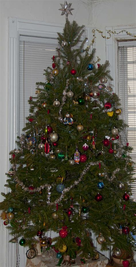 fashioned christmas tree decorations ideas