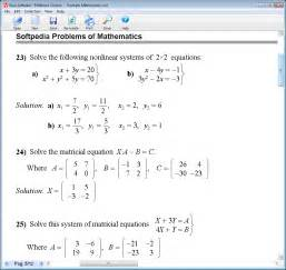 Math Problems Mathematics
