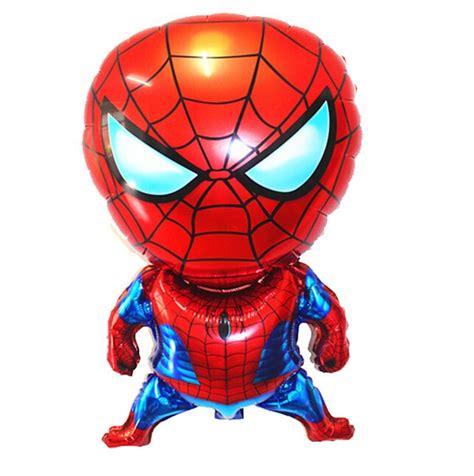 cm cartoon spiderman foil helium balloon birthday party