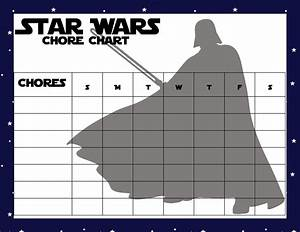 Printable Star Wars Chore Charts - Clever Pink Pirate