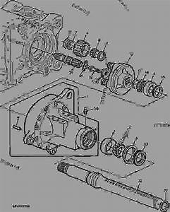 Rear Axle R P - Tractor John Deere 6400 - Tractor