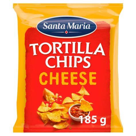 Santa Maria Tortilla Chips Cheese 185g | Approved Food