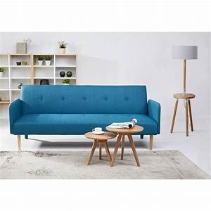canape convertible scandinave niels bleu by drawer With tapis d entrée avec canape suedois convertible