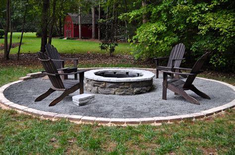 Backyard Homemade Fire Pit