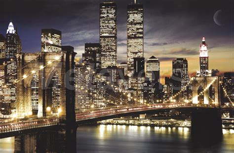 new york city lights wall poster by unknown at