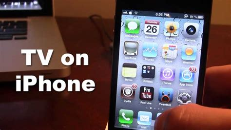 from iphone on tv tv live on iphone with ioslivetv