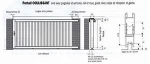Fondation Pour Portail Coulissant : portails coulissants alu ~ Dailycaller-alerts.com Idées de Décoration
