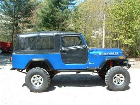 amc jeep scrambler purchase used 1982 jeep scrambler cj 8 with amc 401 t18