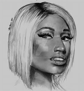Nicki Minaj by BLNart18 on DeviantArt