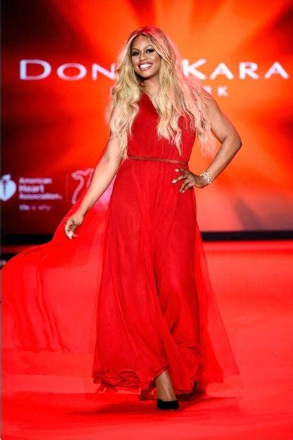 7 Photos That Prove Laverne Cox Totally Owned The NYFW ...