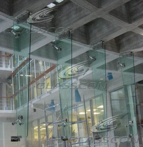 curtain shop curved structural glass mullion wall with glass fins