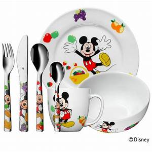 Wmf Kinderbesteck Mickey Mouse Friends : wmf kinder set 7 tlg mickey mouse besteck geschirr sp lmaschine micky maus ebay ~ Bigdaddyawards.com Haus und Dekorationen
