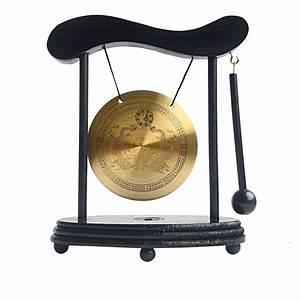 Zen Art Brass Feng Shui Desktop Gong W Free Fengshuisale