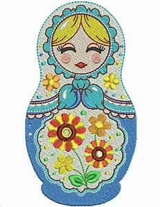 Mamushka Machine Embroidery Designs By Sew Swell