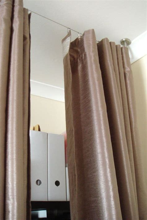 room divider curtain ikea hanging room divider apartment makeover