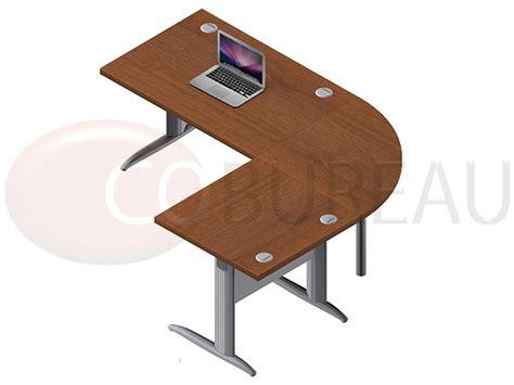 bureau de liaison ensemble bureau cadre 120 cm pro métal avec angle de