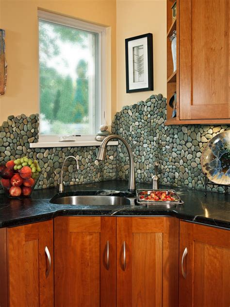 trendiest kitchen backsplash materials hgtv