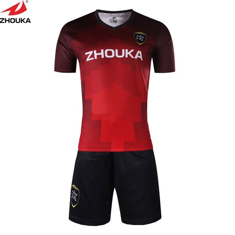wholesale custom youth club soccer jersey design  team