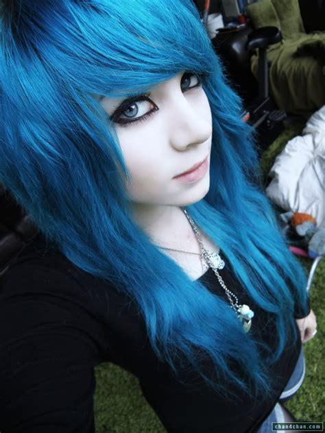 Hair Blue by Blue Hair Chan4chan