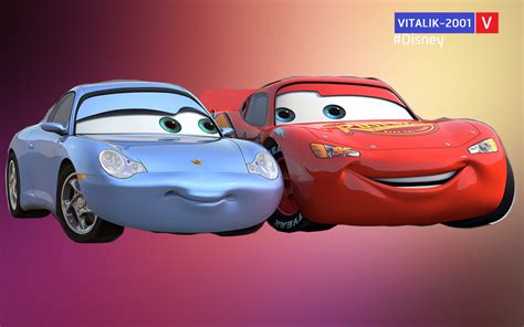 cars sally and lightning mcqueen cars mcqueen and sally www pixshark com images