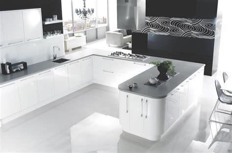 high gloss tiles  kitchen  good interior