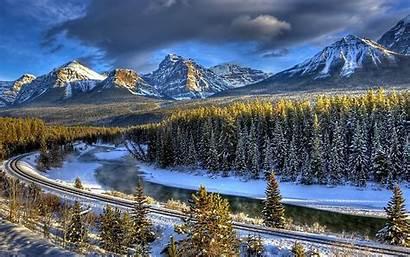 Winter Desktop Nature Hq Wonderland Widescreen Background