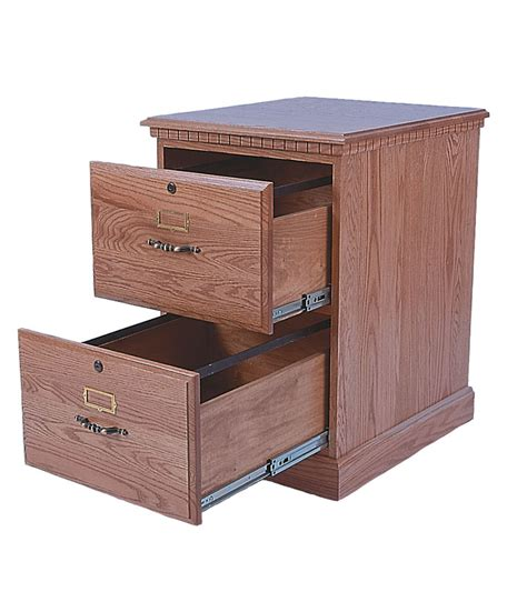 heirwood 2 drawer file cabinet in solid hardwood ohio