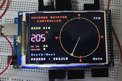 arduino mega based antenna rotator controller qrz