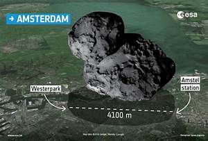 Images Show Size Of Philae's Comet By Dropping It On ...
