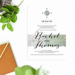nautical wedding invitations world map With nautical wedding invitations australia